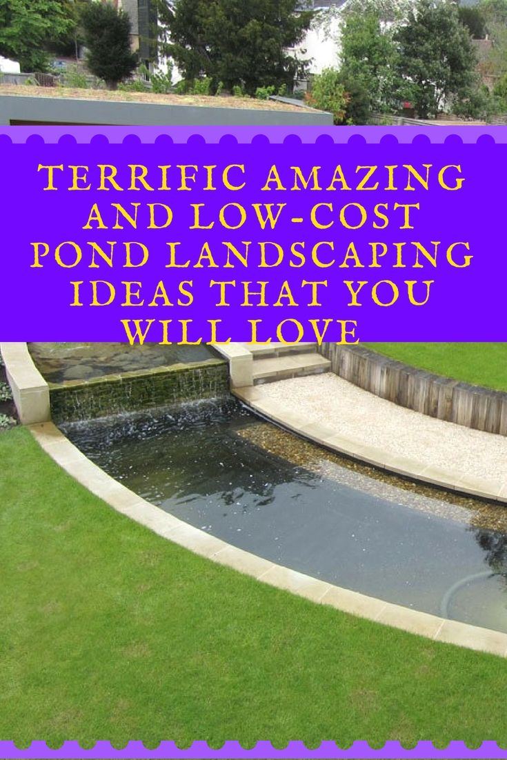 outdoor pond landscape hacks that are great pond ideas