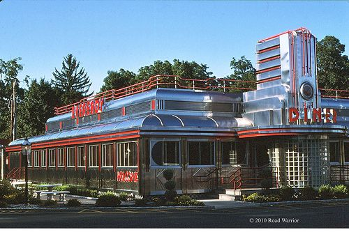 Eveready Diner, Hyde Park, NY 072796  been here, long ago in another life.....