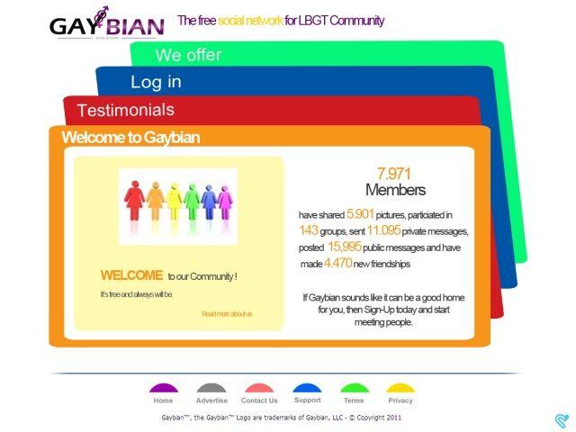 lgbt social network sites
