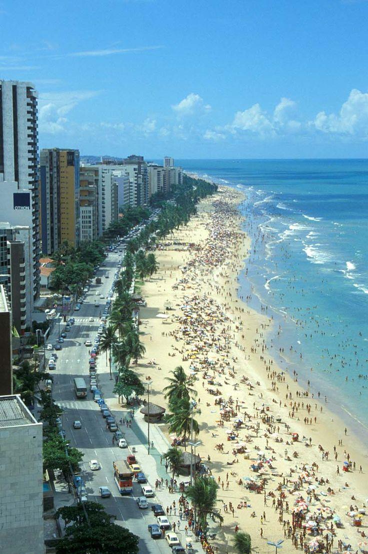 Recife Praia de Boa Viagem - Brasil