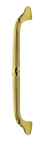 8'' Drill Center Polished Brass Pull