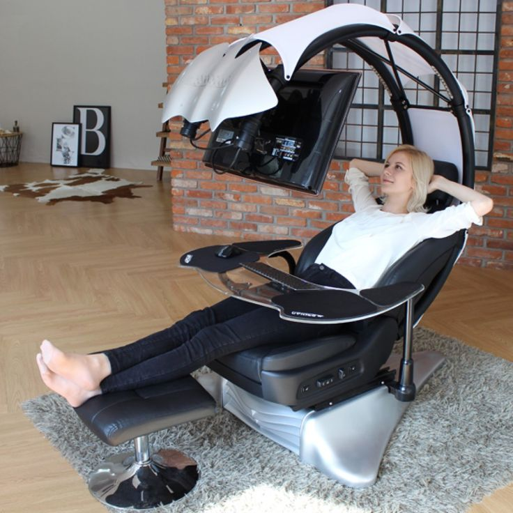 Immerse yourself in work or entertainment in ergonomically ...