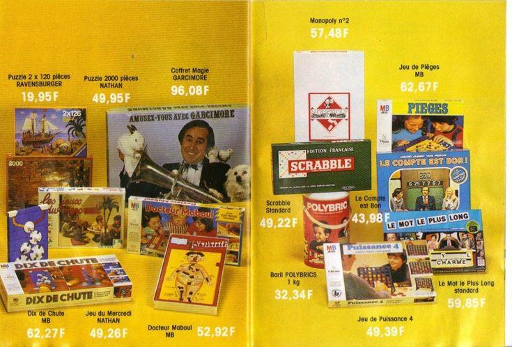 CATALOGUE NOEL 1981 ET 1982