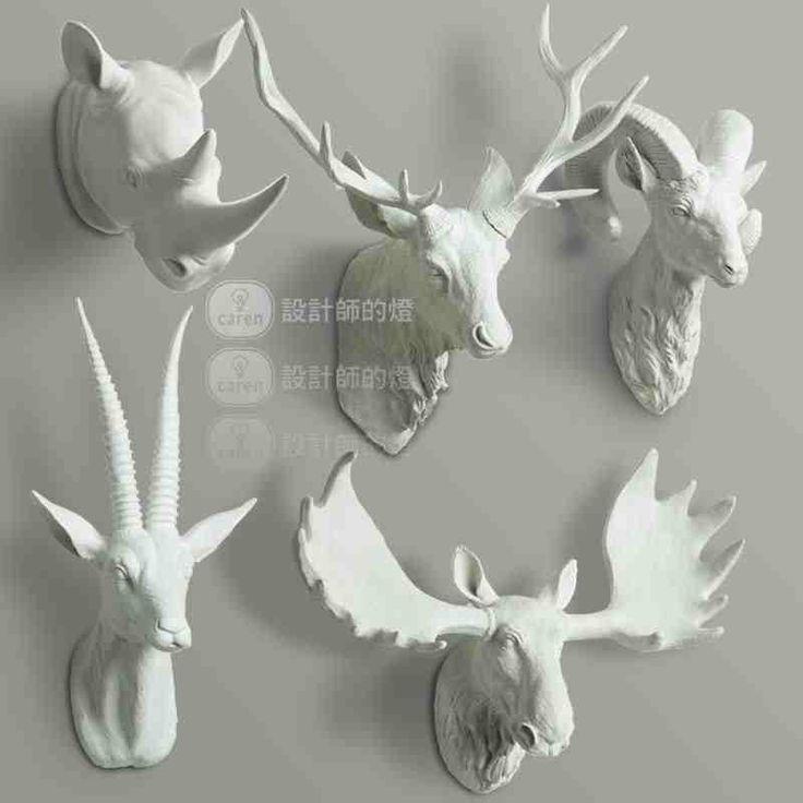 Декоративные гобелены гобелены голову носорога рога оленя висит кулон ретро европейских украшения творческий животных стене - Taobao