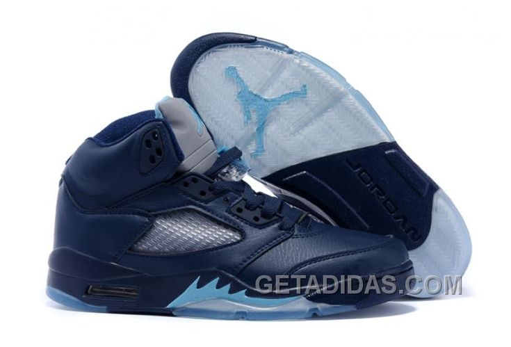 "... freeshipping f29d3 f4f07 Find 2016 Air Jordans 5 ""Hornets"" Midnight  NavyTurquoise Blue-White; girls sneaker ..."