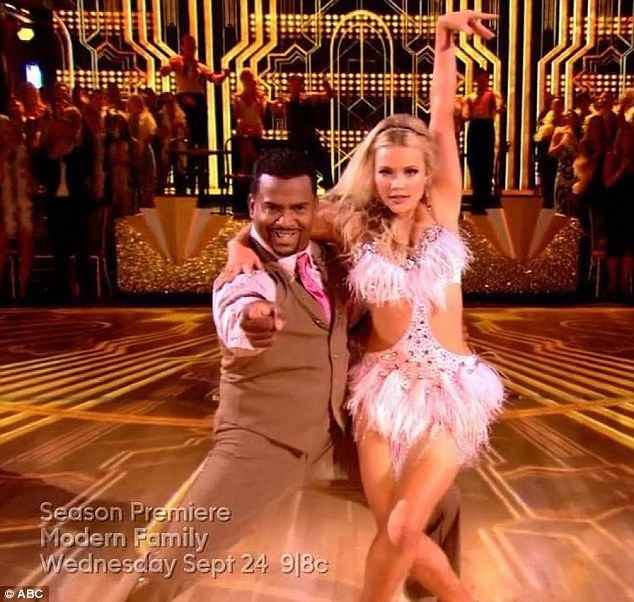 """TV ratings: Premiere of 'Dancing With the Stars' boosts ABC to No. 1 Despite dropping 23% from last year's fall premiere, ABC's """"Dancing With the Stars"""" helped the network groove to the top of the TV ratings on Monday.  The two-hour Season 19 premiere won the night with 13.5 million viewers, according to Nielsen. With a rating of 2.4, the show was No. 1 among the.. http://www.latimes.com/entertainment/envelope/cotown/la-et-ct-tv-ratings-dancing-with-the-stars-abc-20140916-story.html"""