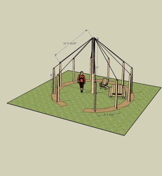Hop trellis design my someday garden pinterest for Hops garden designs