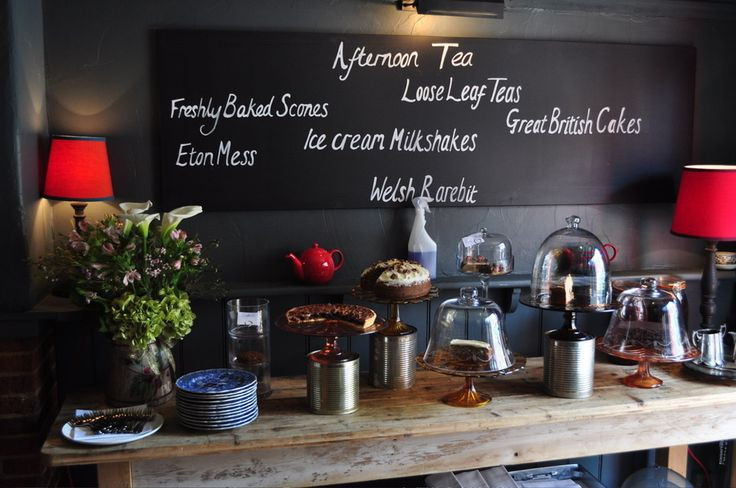 I love this look for a pub - great gastro pub