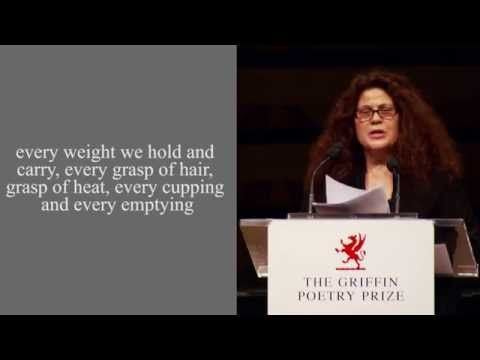 """Poet Anne Michaels reads from her collection """"Correspondences"""", shortlisted for the 2014 International Griffin Poetry Prize. The reading took place at Koerner Hall in Toronto, Canada on June 4, 2014."""