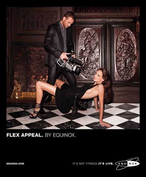 Equinox Fitness Club Advertisements #12...    Information @ http://www.anneofcarversville.com/body-politics/2012/1/3/terry-richardsons-ads-for-equinox-fitness-clubs.html