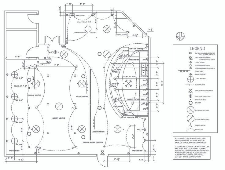 rcp and lighting plan