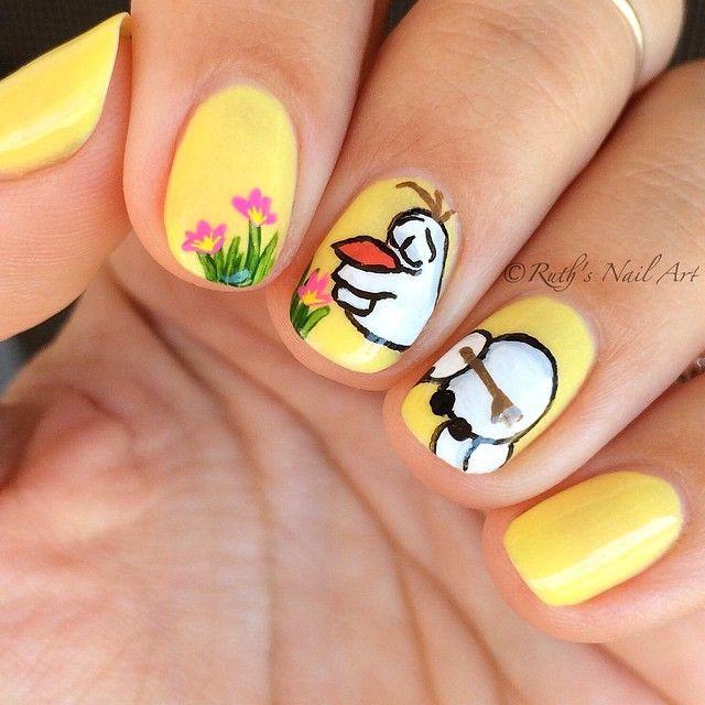 Best 25+ Olaf nails ideas on Pinterest | Disney frozen ...