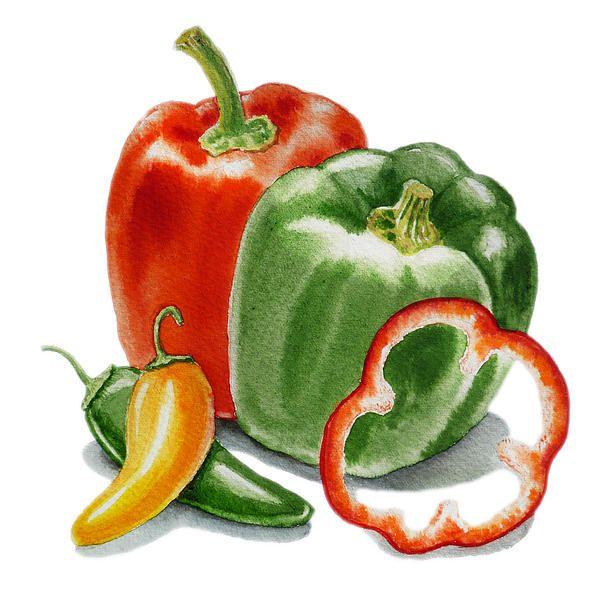 Irina Sztukowski, Bell peppers