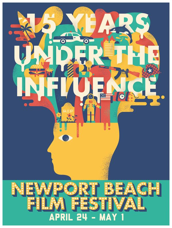 Newport beach Film Festival on Behance
