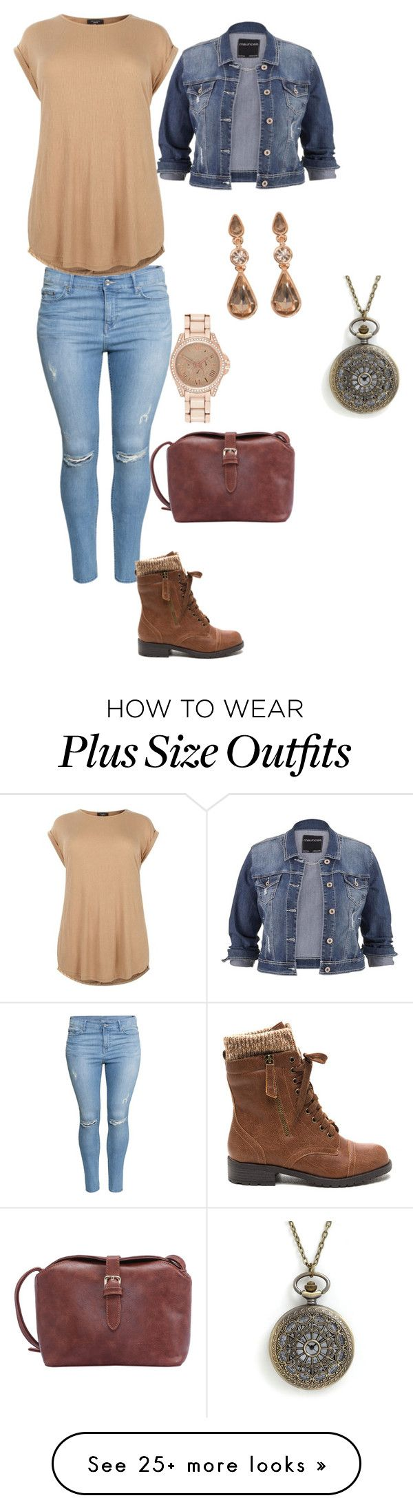 """""""diva causal"""" by patricia20306 on Polyvore featuring H&M, maurices, River Island, Givenchy and plus size clothing"""
