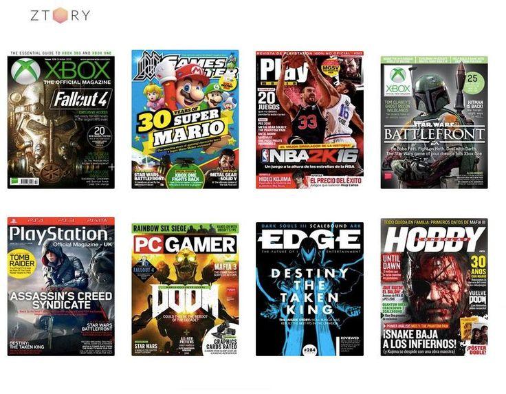 ¡Llegó el comienzo de la temporada! Todos los #videojuegos que llegan con el #otoño a fondo en las #revistas de Ztory: #FallOut4, #SuperMario, #Doom, #AssassinsCreed, #FIFA16... y todos los #juegos para #PlayStation, #XBox y todas las demás. ¿A qué esperas? https://www.ztory.com/es/magazines/category/juegos