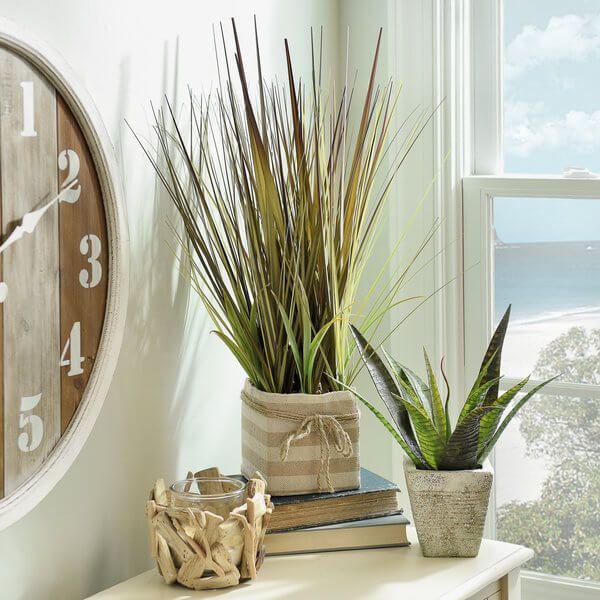 Coastal Bathroom - Grass Accents | Kirkland's