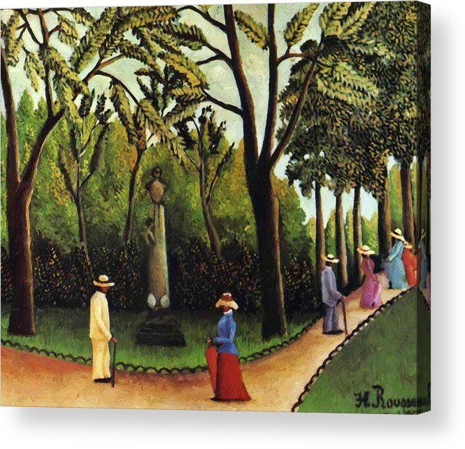 68339b48a7a38c3ab48e9e92890c2137 - The Monument To Chopin In The Luxembourg Gardens