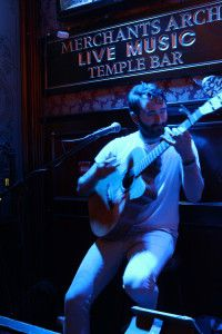 Live music is everywhere in Dublin - make sure you check out Merchant's Arch in Temple Bar