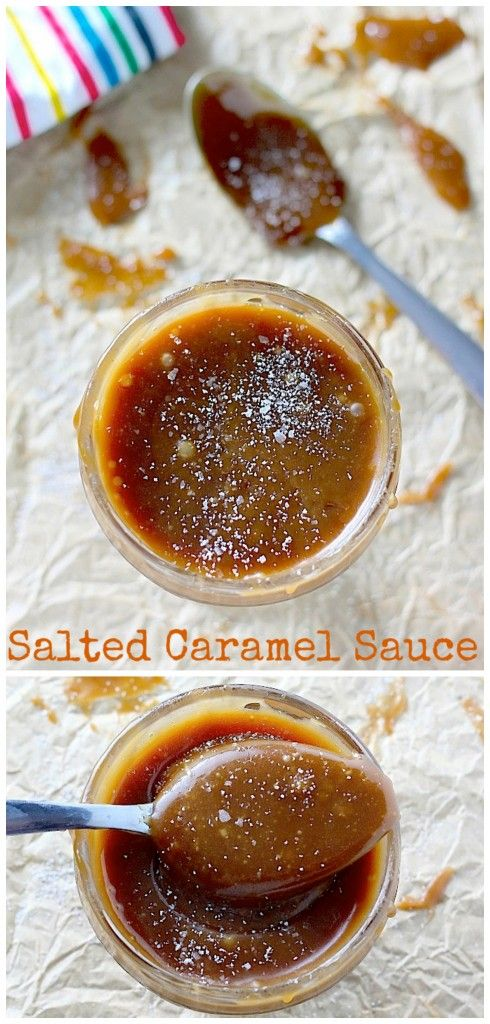Easy Salted Caramel Sauce - Just 6 minutes and 4 ingredients needed!
