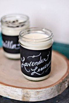 Tutorial for DIY Handmade Scented Soy Candles