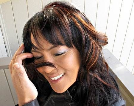 25 ide terbaik highlights black hair di pinterest rambut ombre black girls hairstyles with colour highlights highlights for dark hairfall highlightshoney pmusecretfo Gallery