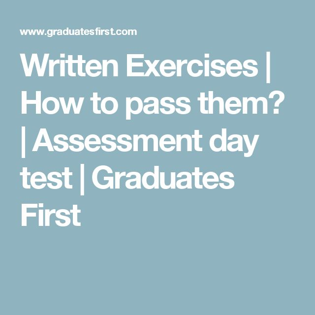22 best assessment centres images on pinterest assessment centre written exercises how to pass them assessment day test graduates first fandeluxe