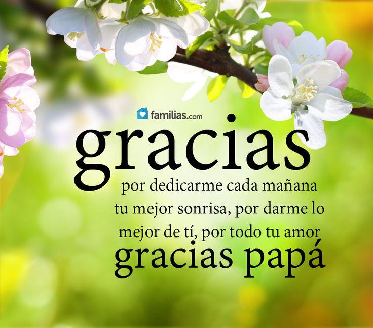 Gracias por todo papá