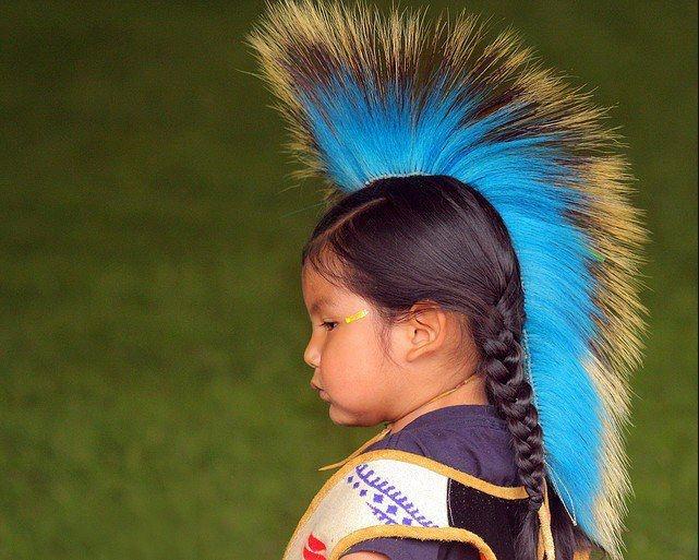 Pequeño indígena norte-americano...
