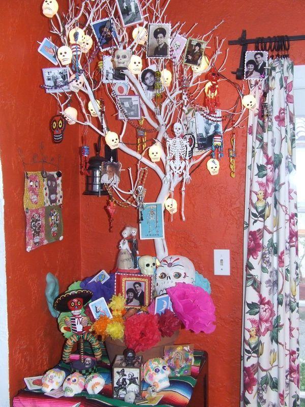 day of the dead tree