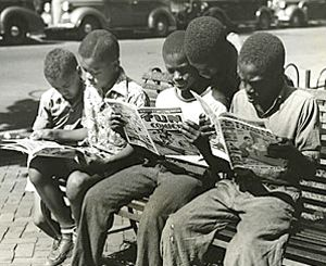 Image result for child reading a comic book