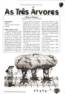 Bloguinho da Vânia: História: As três árvores