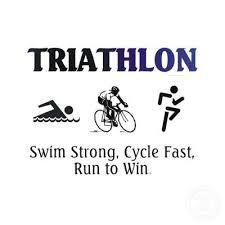 Triathlon follows.