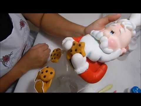 #3 - Enfeite de mesa Elefante - Saindo da Forma - YouTube                                                                                                                                                                                 Más