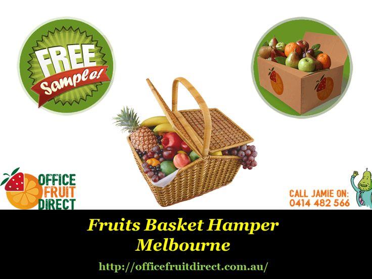 #Fruits Basket Hamper #Melbourne  source: http://officefruitdirect.com.au/portfolio/large-office-fruit-box-delivery/