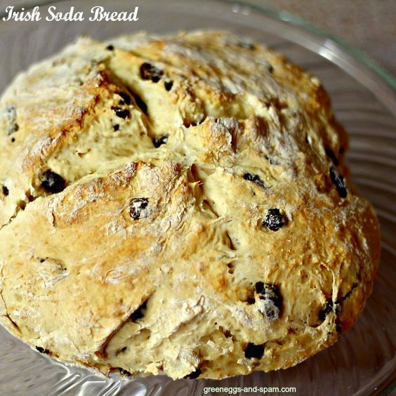 irish soda bread. this is the best recipe ive tried. cake flour does wonders extra butter on top doesnt hurt either...