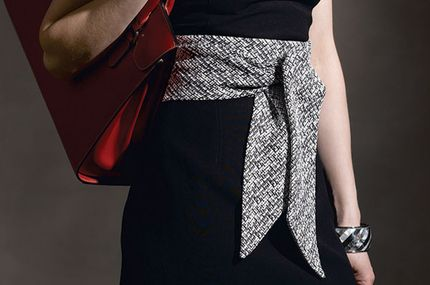 1 hour wide belt diy craftystylish - Create this patternless Japanese-inspired wrap with a twist.