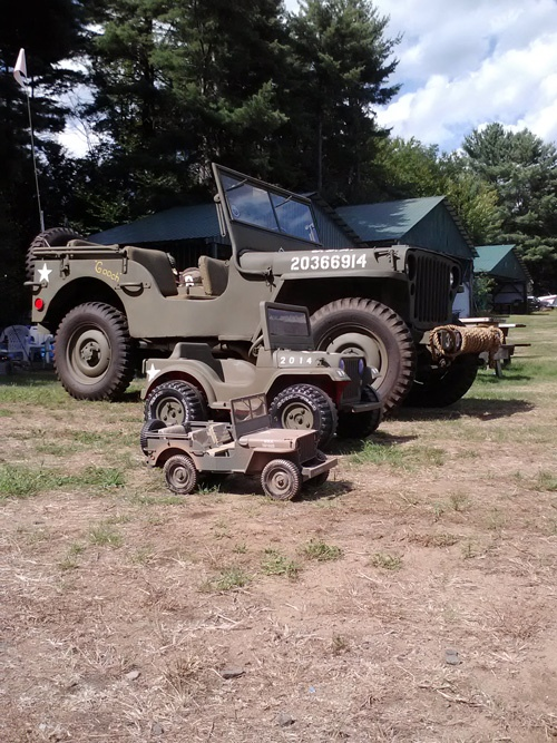 restoration of a 1942 willys mb military jeep hanson