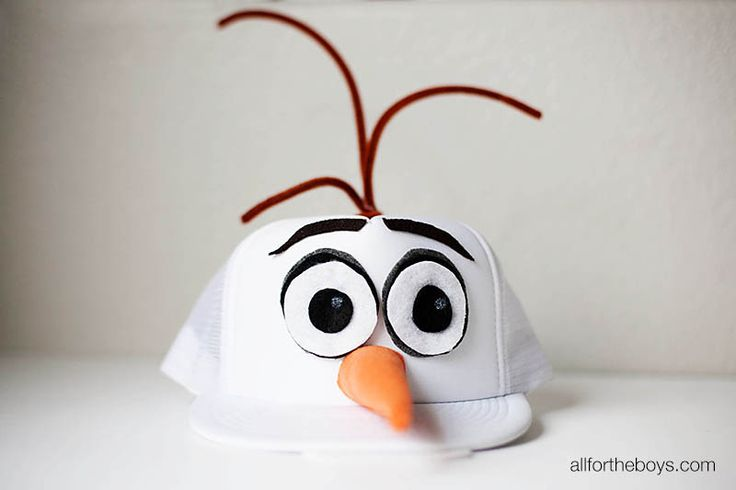 DIY Olaf hat and runDisney costume from