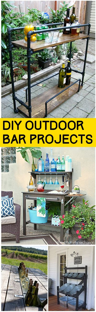 Best 25+ Outdoor Bars Ideas On Pinterest | Patio Bar, Diy Outdoor Bar And  Outdoor Garden Bar