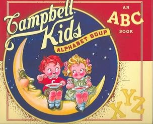 Remember the Campbell Soup Kids! ~ I have a set of fork and spoon from the Campbell Kids!  So cute!