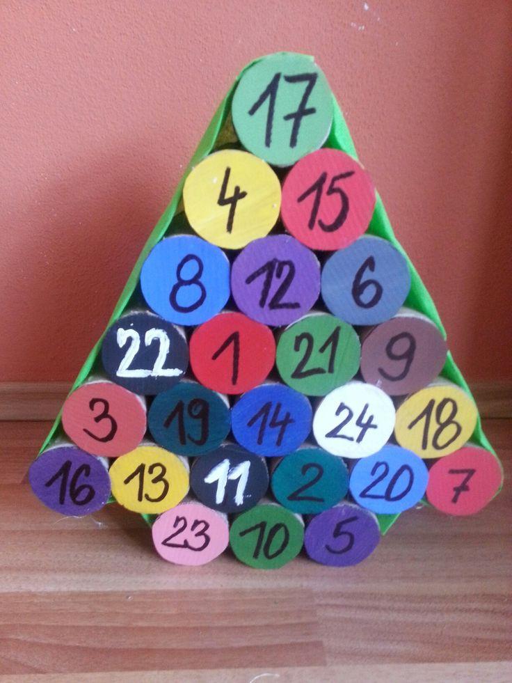 Diy Kids Christmas Calender