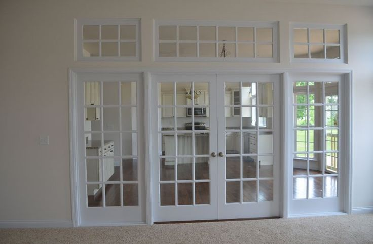 French Doors Inside