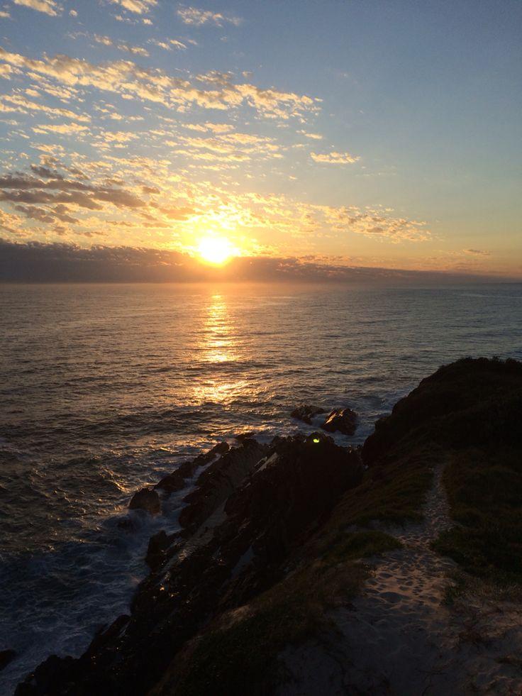 One Mile Sunrise