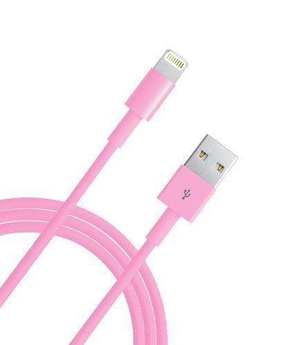 Charger,10 FT Extra Long Lightning USB Cable 8 Pin Sync USB Charging Cord for iPhone 6 / 6 Plus / 6s / 6s Plus / SE , iPhone 5 / 5s / 5c , iPad Air / Air 2 / Mini / iPod (Pink). 10-foot cord with aluminum casing cable is ideal for usage while charging in home, cars, office, and more Compatible with iPhone 5, 5c, 5s, iPhone 6, iphone 6 Plus, iPhone 6s, iphone 6s Plus, iPod Nano 7, iPod Touch 5, iPad 4, iPad5, iPad Air 2, iPad Air, iPad mini 3, iPad Mini 2, iPad Mini Retina NOT compatialbe...
