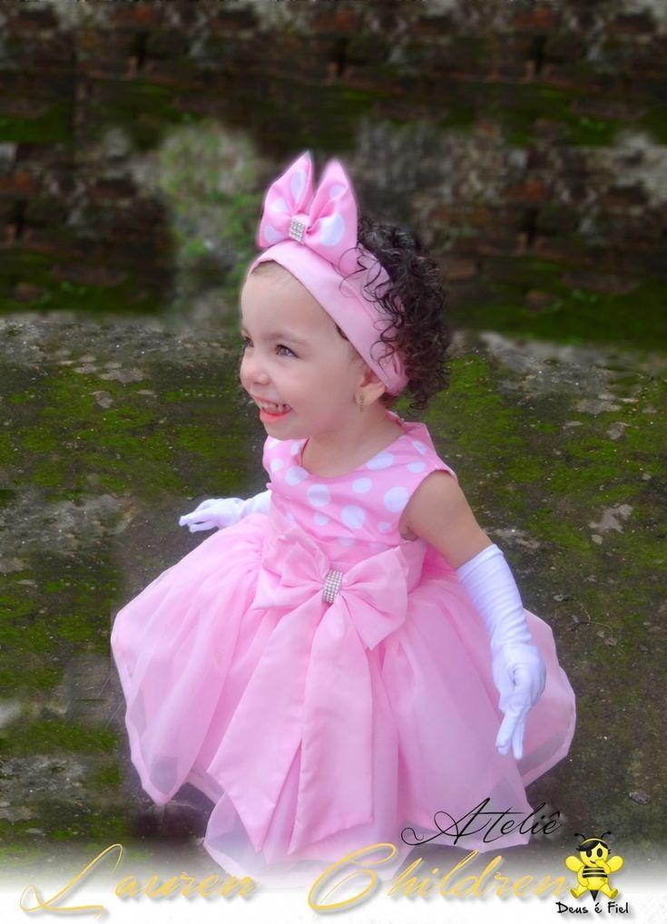 Vestido Disfraz Minnie Mouse Y Pata Daysi - $ 1.200,00 en MercadoLibre