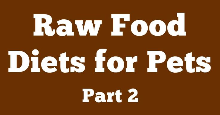 In this second part, Dr. Becker defines optimal nutrition for cats and dogs, and enumerates her nutritional goals for her patients. http://healthypets.mercola.com/sites/healthypets/archive/2013/04/01/raw-food-diet-part-2.aspx