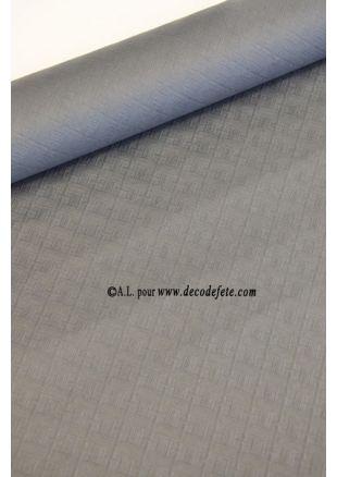 10 M Nappe papier gris anthracite