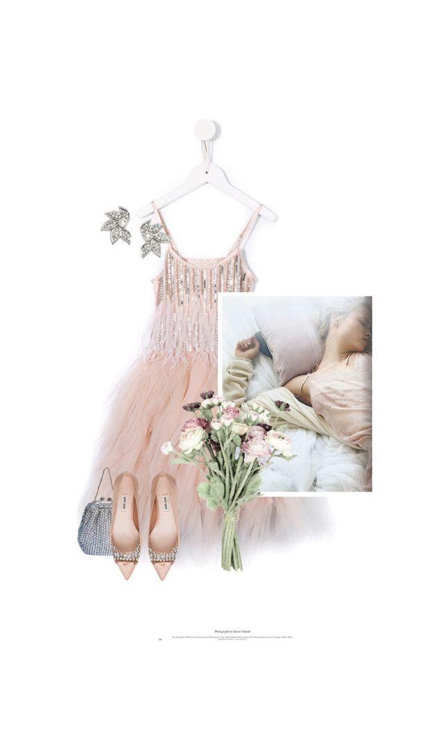"""La Belle Au Bois Dormant / The Sleeping Beauty"" by halfmoonrun ❤ liked on Polyvore featuring Sarah Flint and Miu Miu"