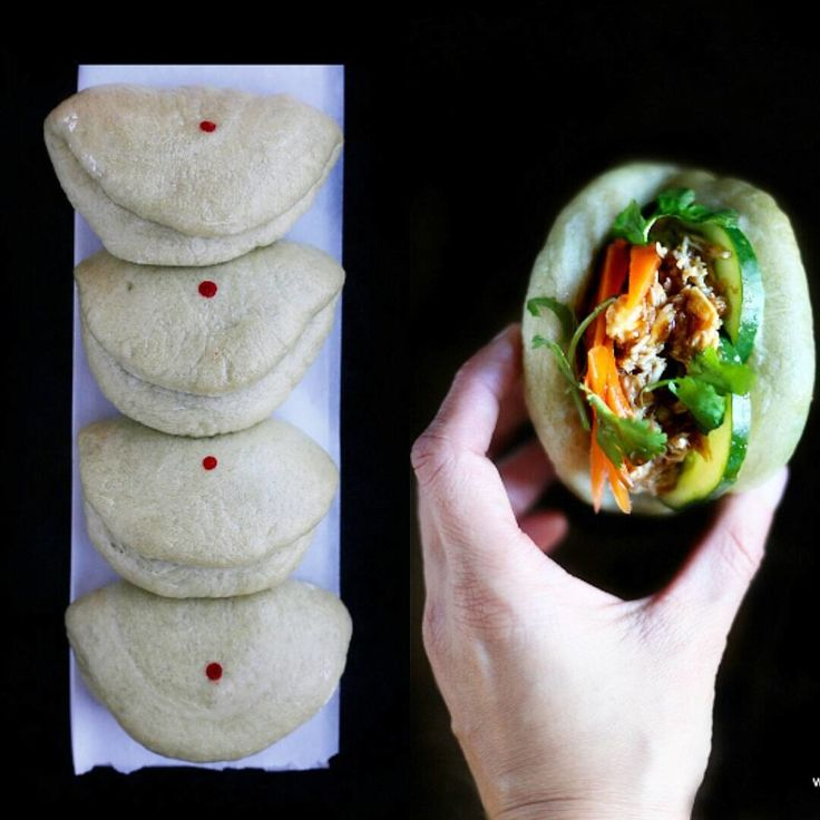 How many if you love these flat steamed buns foldedhellip